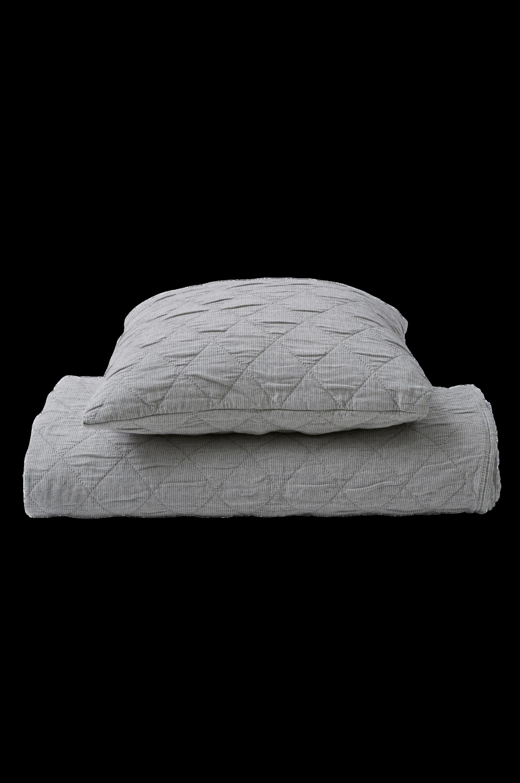 Sengetæppe Coleen af vasket bomuld – 150x250 cm Ellos Sengetæpper til Boligen i Grå