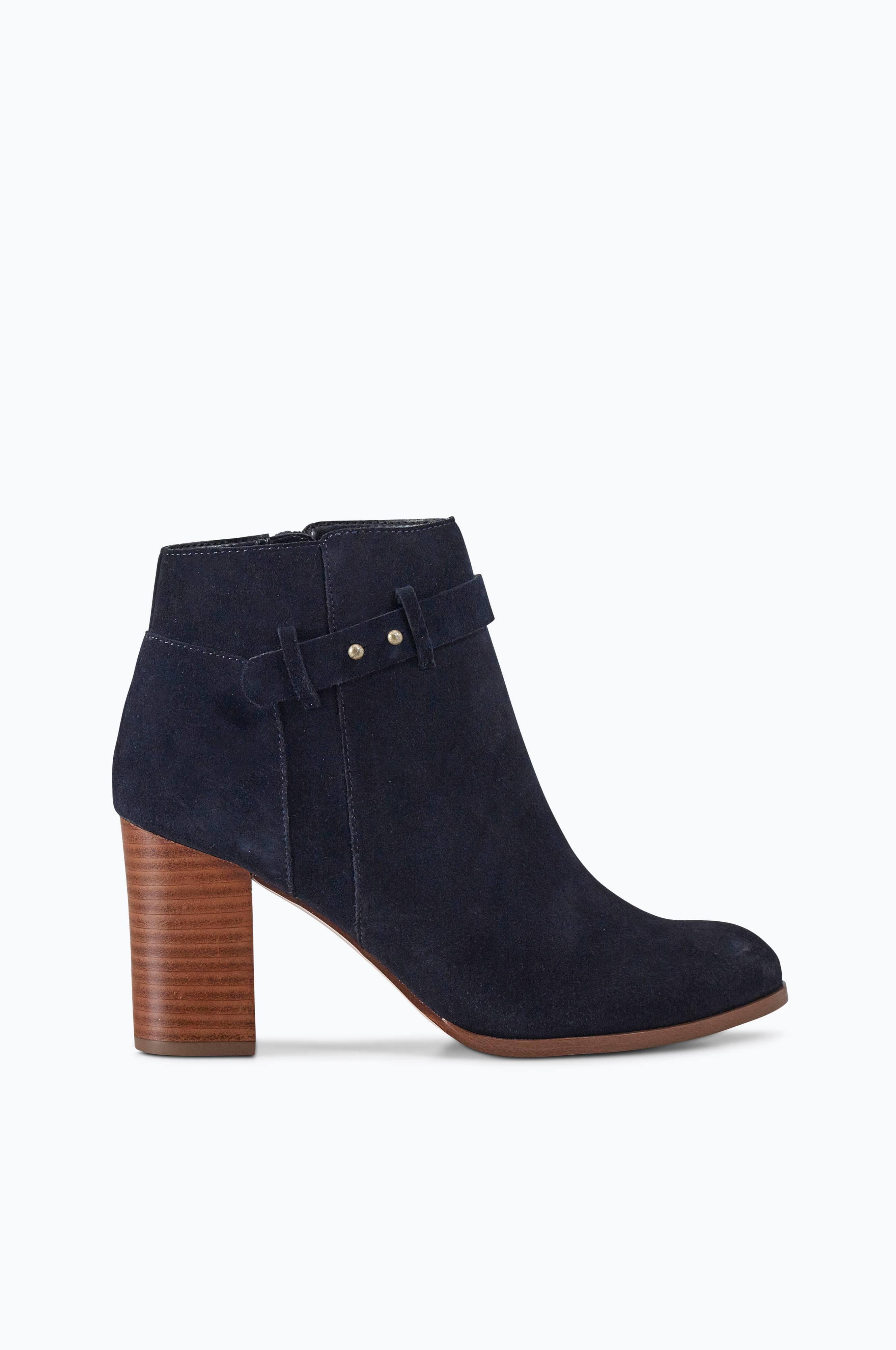 Ellos Shoes Semskede boots Boltimore - Blå - Dame - Ellos.no ec3d96db42