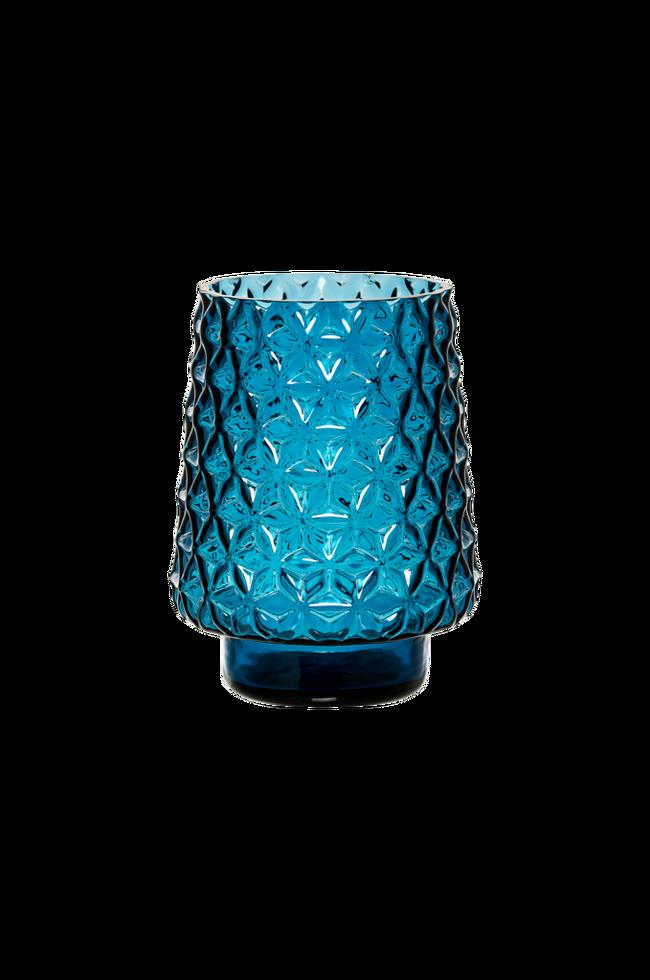 Bilde av Vase Blue dia 14 cm