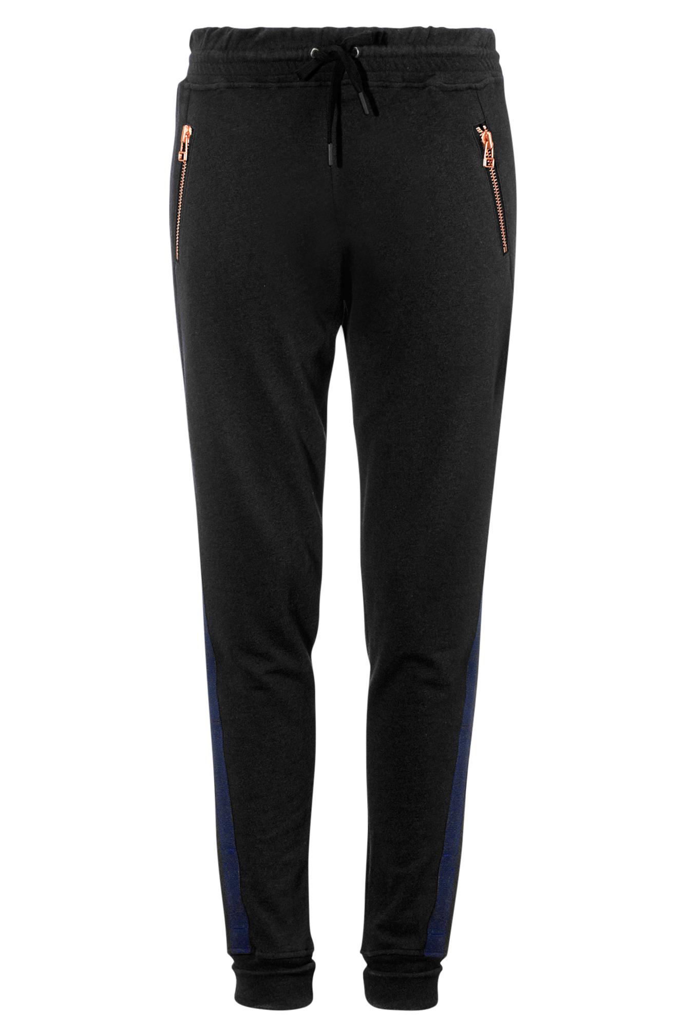 The Sweat Pant CLOSE by DENIM Bukser til Kvinder i Sort