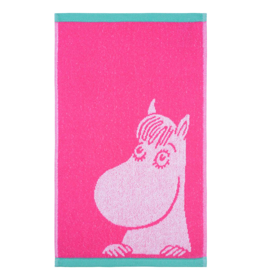 Håndklæde Snorkfrøknen – 30x50 cm Finlayson Frotté til børn til Børn i Rosa