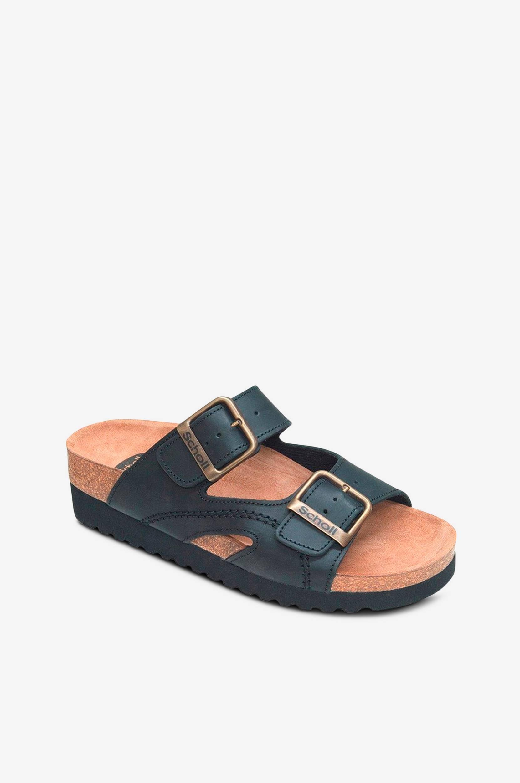 Moldava Wedge -sandaalit nahkaa