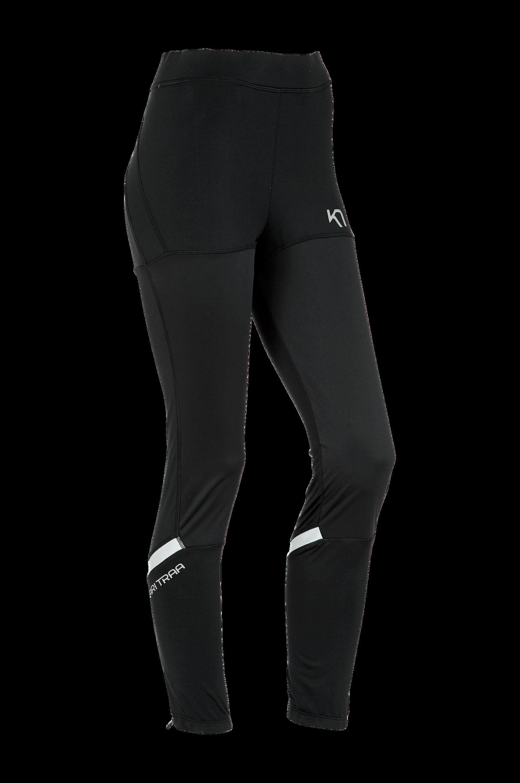 Træningstights Anita til vintertræning Kari Traa Træningsbukser, -shorts & -nederdele til Kvinder i Sort