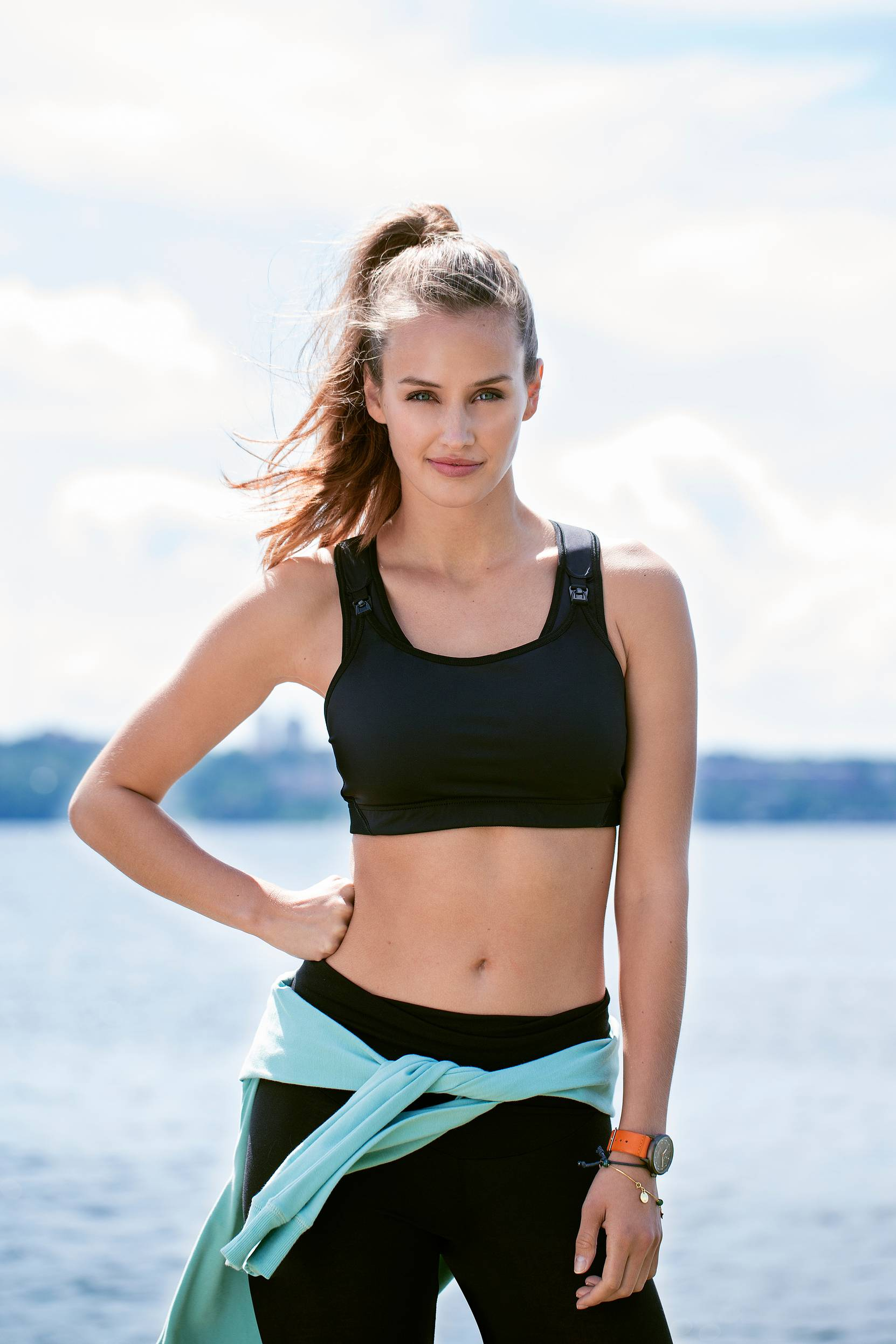 Fast Food Sports Bra -imetysliivit