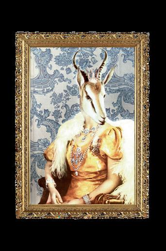 Drottningen von Savannen juliste 50x70 cm