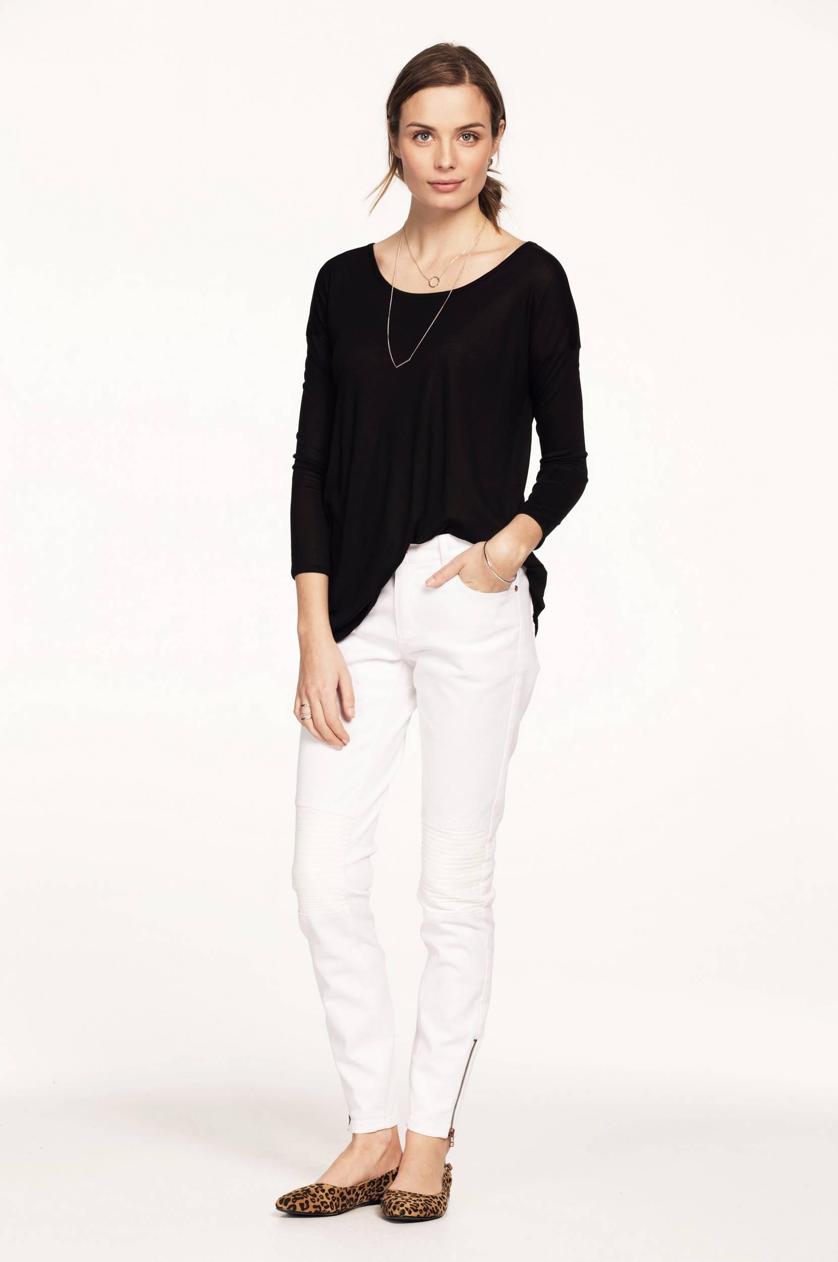 Jeans med powerstretch Ellos Jeans til Kvinder i Hvid