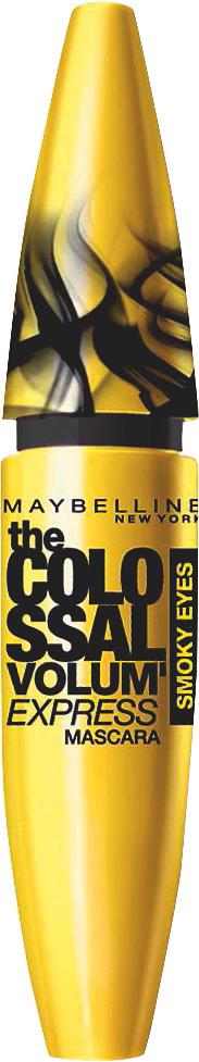 Volum' Express Colossal Mascara Maybelline Øjne til Kvinder i Smoky black
