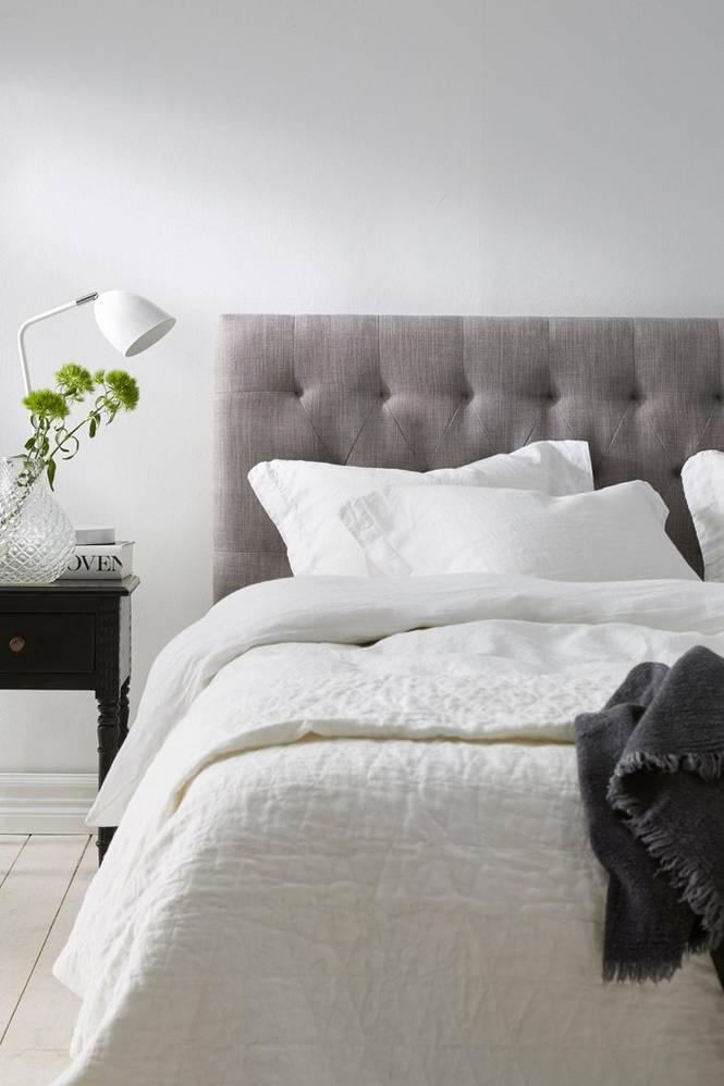 Sänggavel Stoppad 180 cm