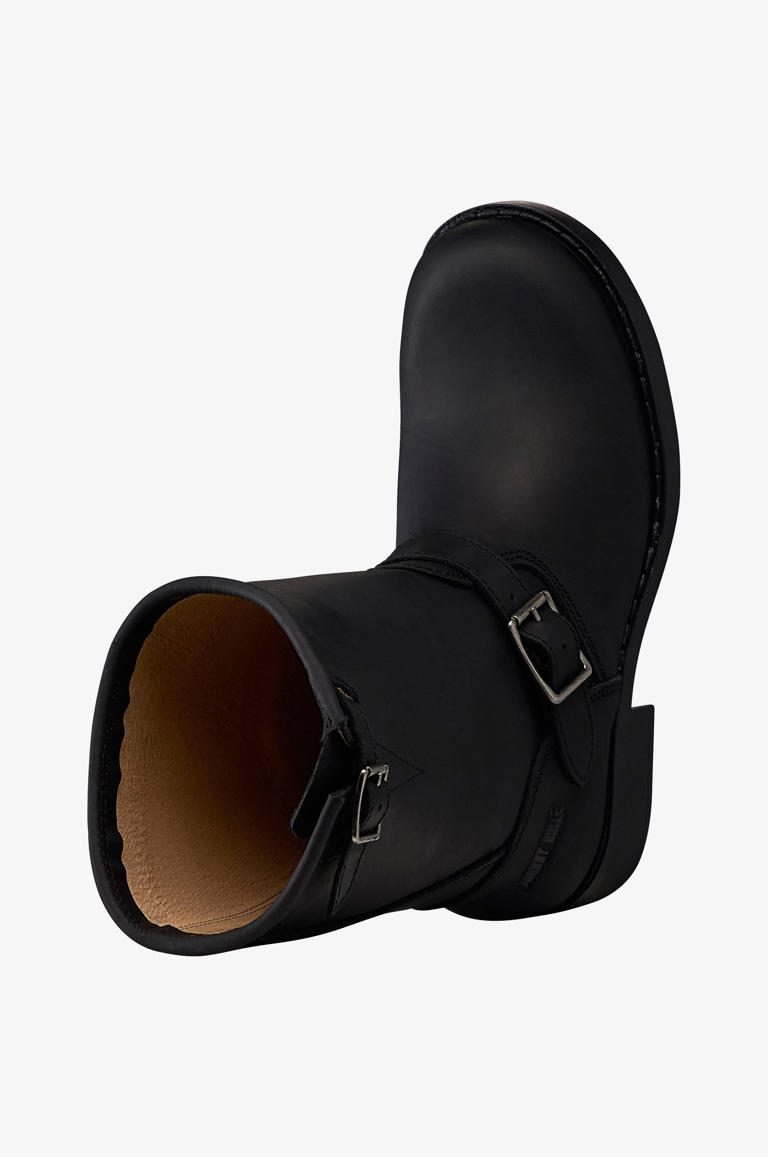 Johnny Bulls Boots High Biker Svart Boots Ellos.se