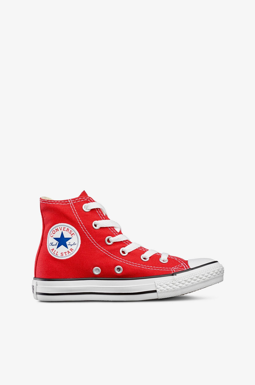 All Star High Sneakers Converse Sneakers til Børn i Rød