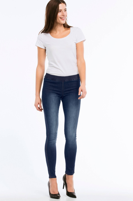 Jeansleggings Ines Ellos Jeans til Kvinder i Denimblå