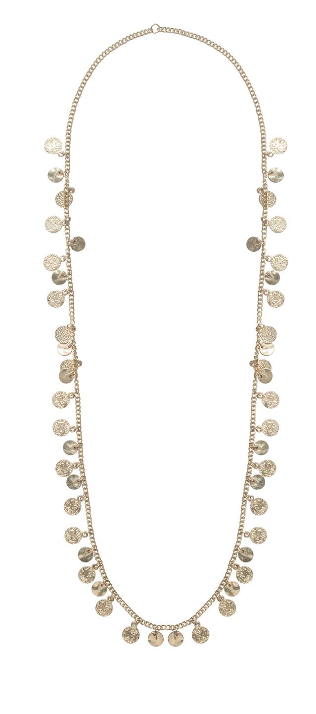 Halskæde Mia pieces Accessories til Kvinder i Guldfarvet