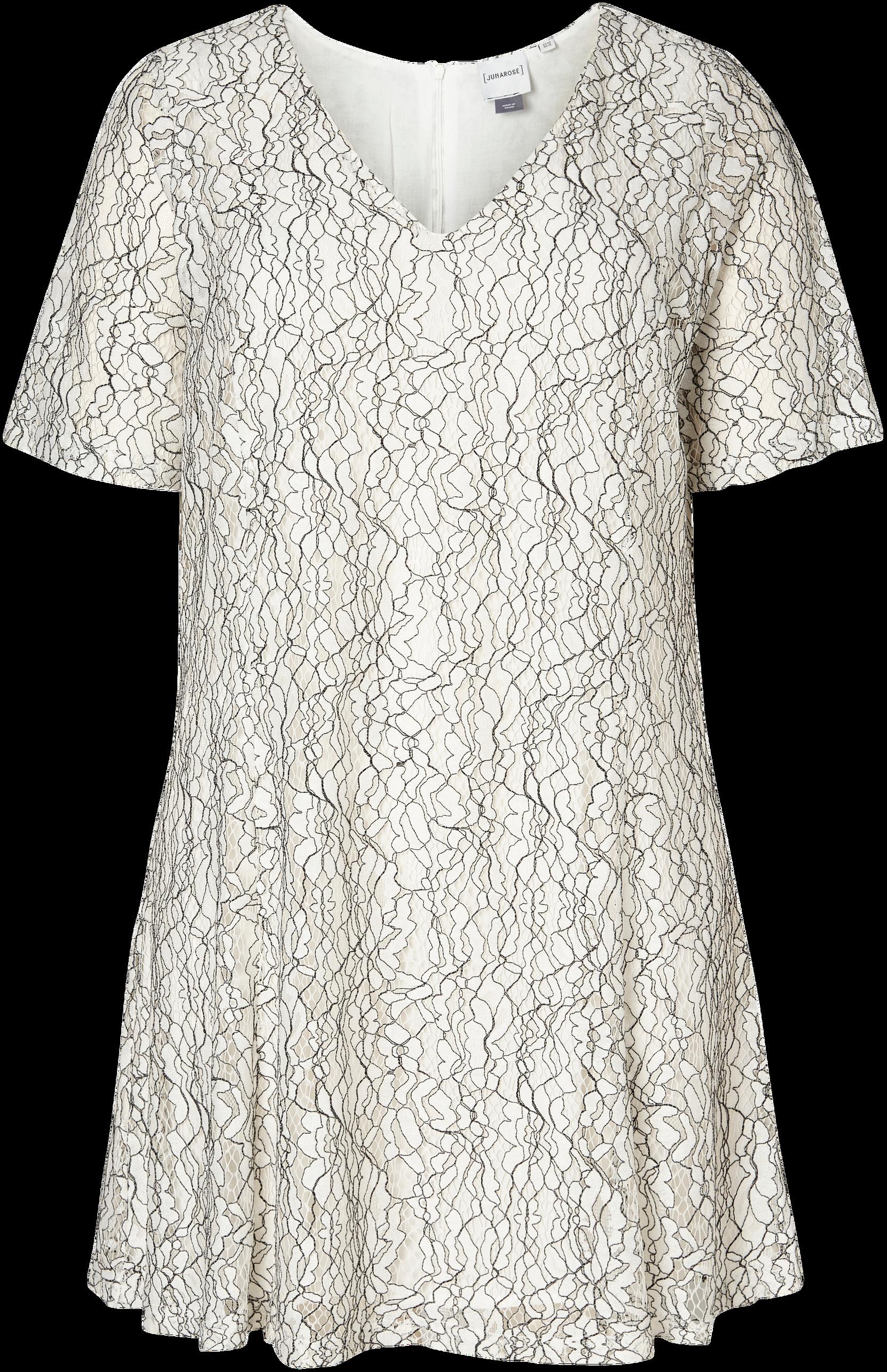 Blondekjole JrMariana Junarose Kjoler til Kvinder i Hvidmønstret