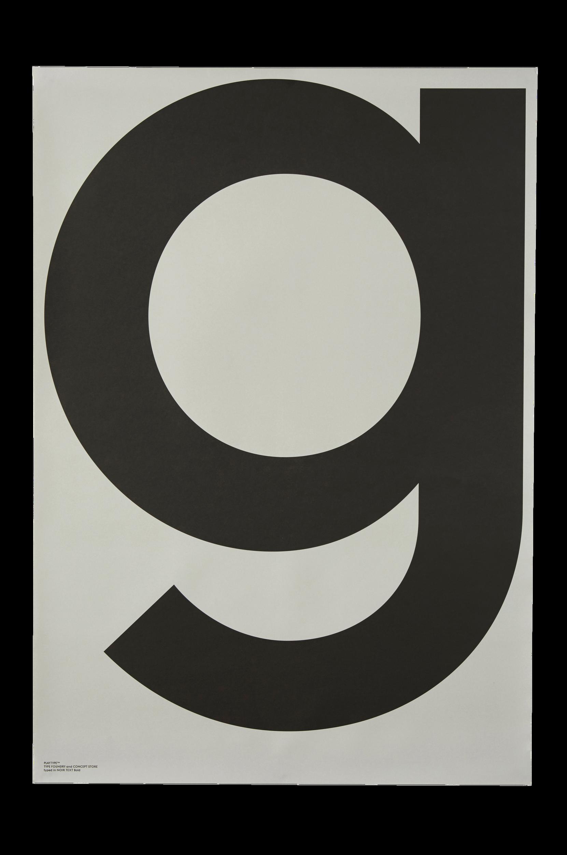 G-Grey-juliste 70x100 cm