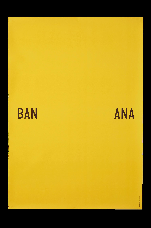 Banana-juliste 70x100 cm