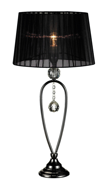 marksl jd kristall bordslampa svart hem inredning. Black Bedroom Furniture Sets. Home Design Ideas