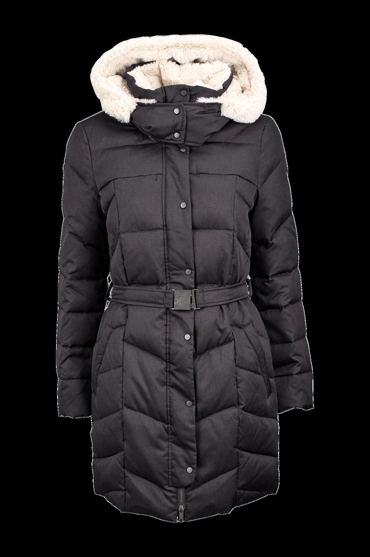 Dunfrakke Esprit Jakker & frakker til Kvinder i Mørkegrå
