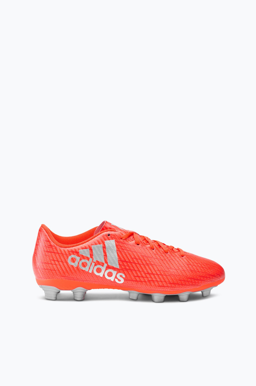 Fodboldstøvle X 16.4 FXG Kunstgræs adidas Træningssko til Mænd i Rød