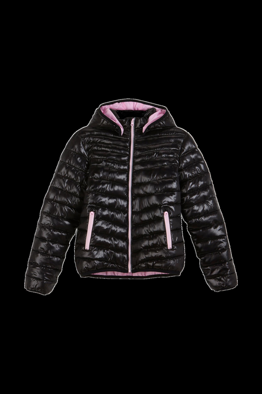 Let vatteret forårsjakke Ellos Overtøj til Børn i Sort/lys rosa