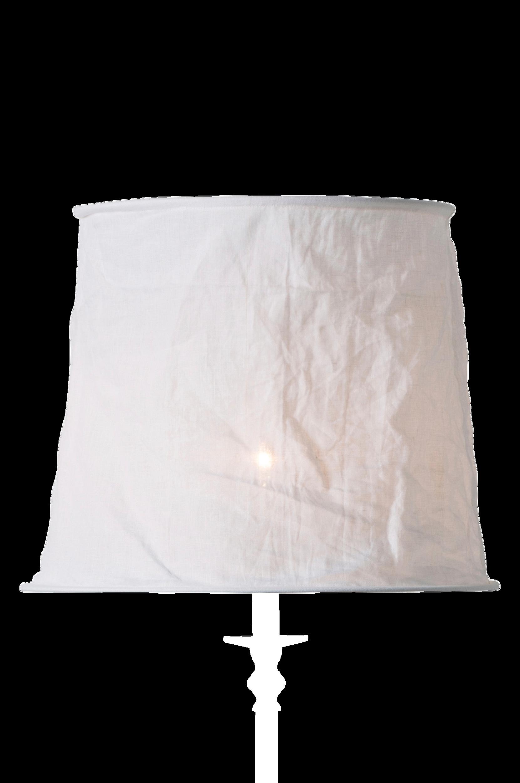 Lampeskærm Vivianne – 42 cm watt & VEKE Lampeskærme til Boligen i Hvid
