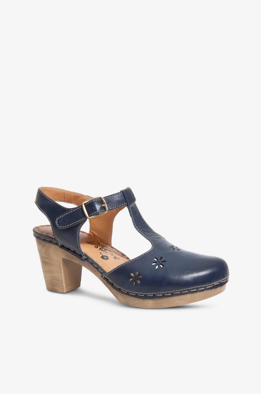Reikäkuvioiset sandaalit, clog-malli