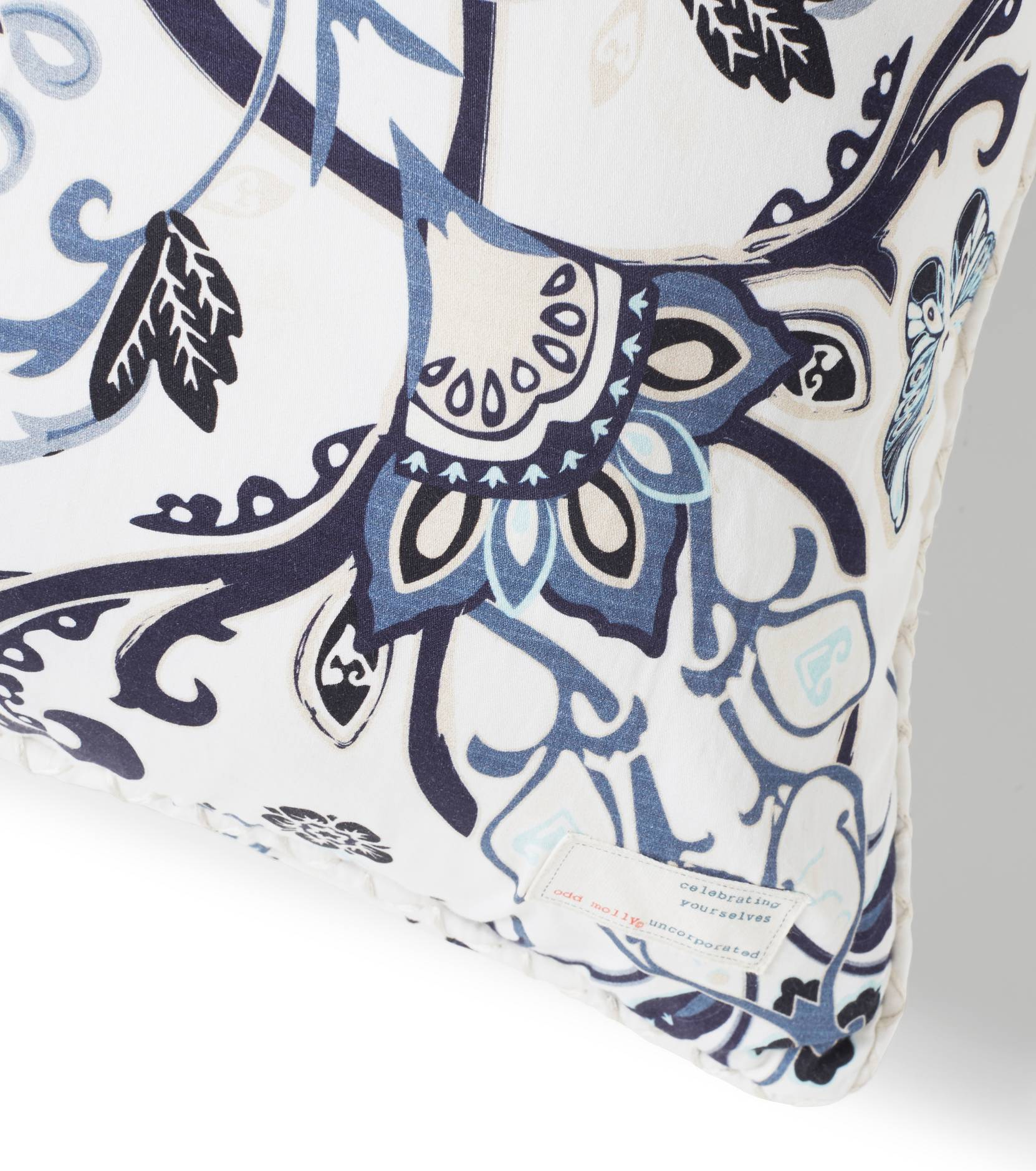 Boho butterfly -tyynynpäällinen 50x50 cm