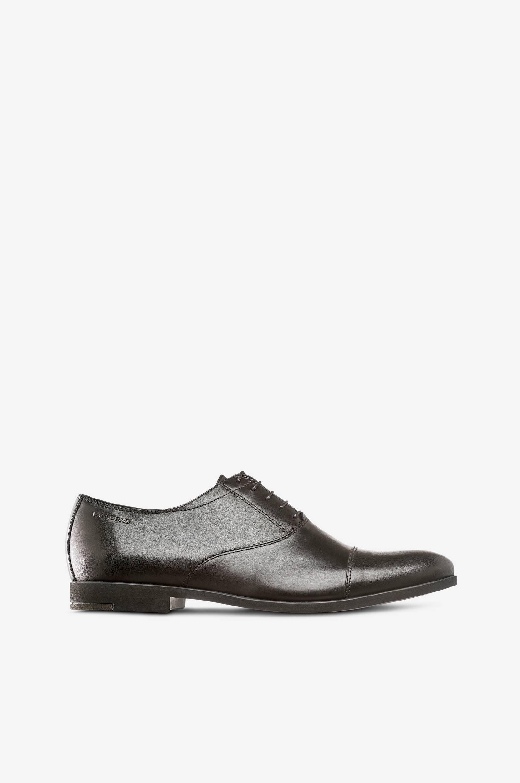 Linhope-kengät mustaa nahkaa