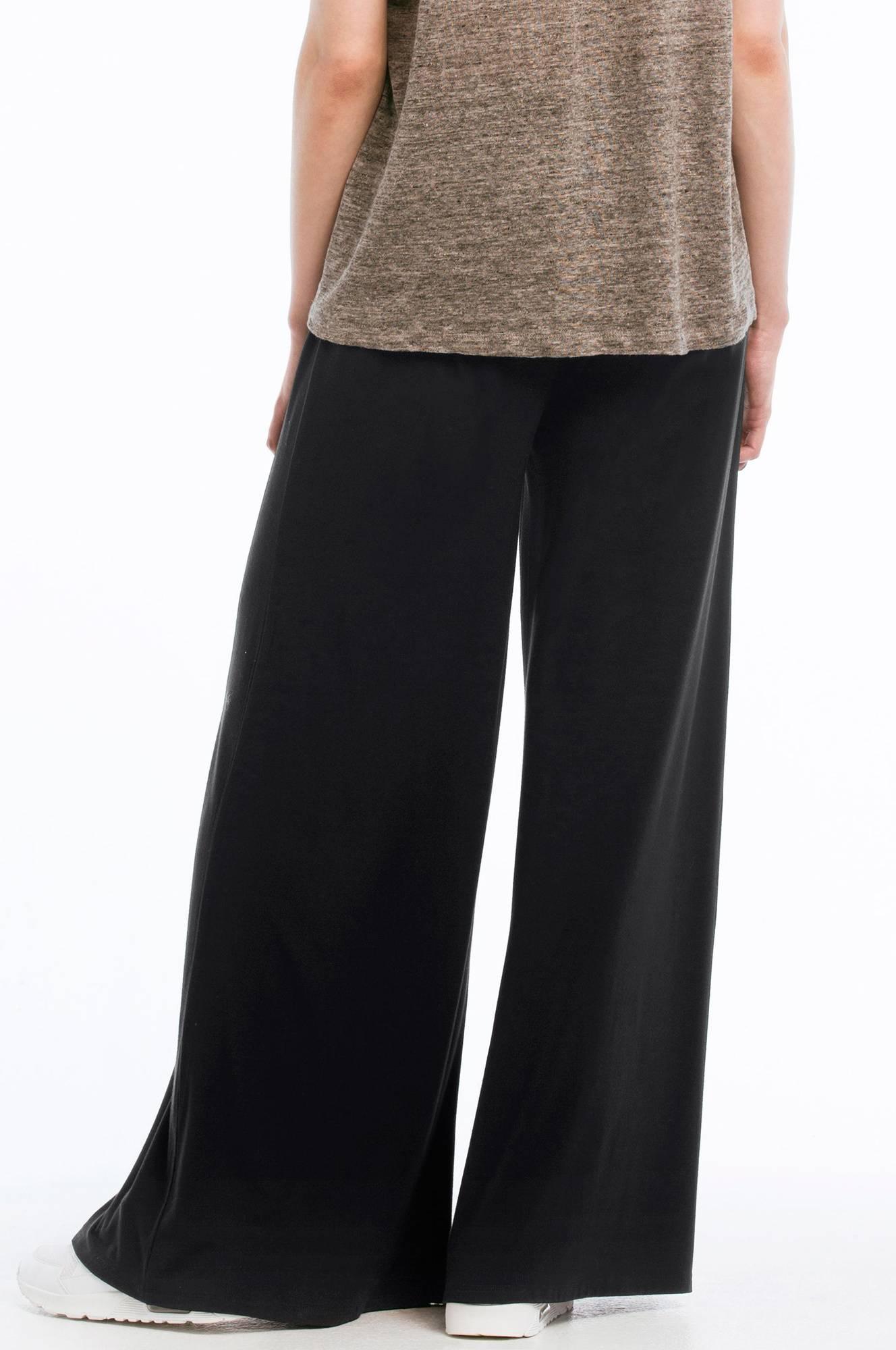 Ellos Collection Bukse med vide ben Svart Trikotbukser