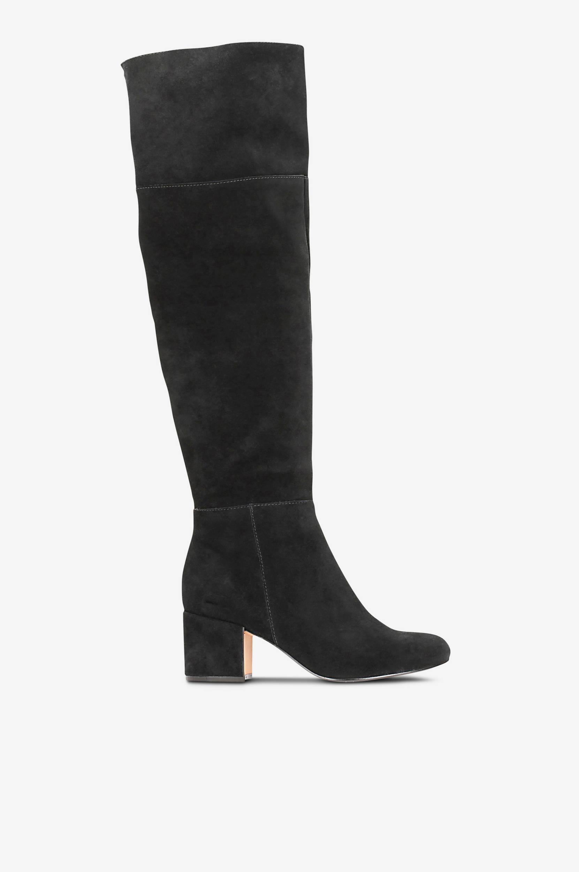 Overknee-støvle Barley Ray Clarks Støvler til Kvinder i Sort