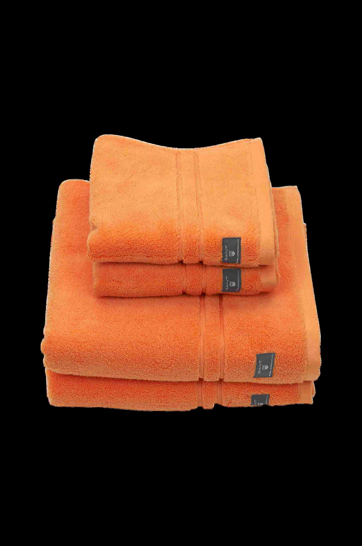 Badehåndklæde Premium Terry Towel Gant Badeværelsestekstiler til Boligen i Orange
