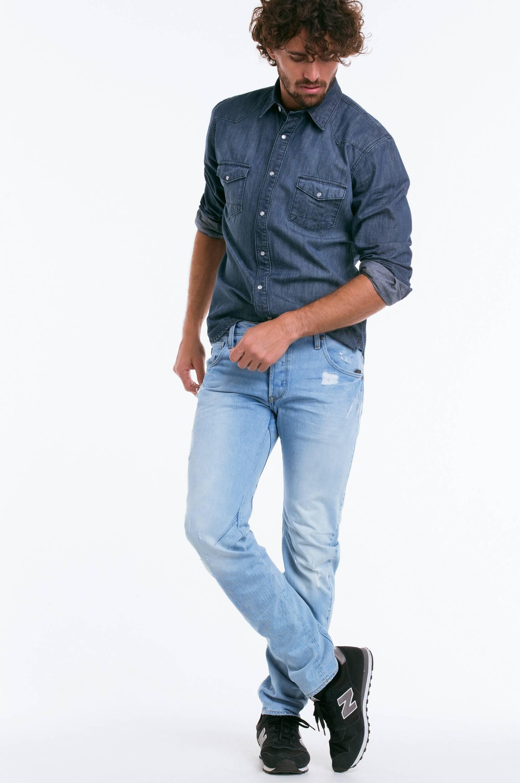 Jeans Arc 3D slim G-Star Jeans til Mænd i Blå