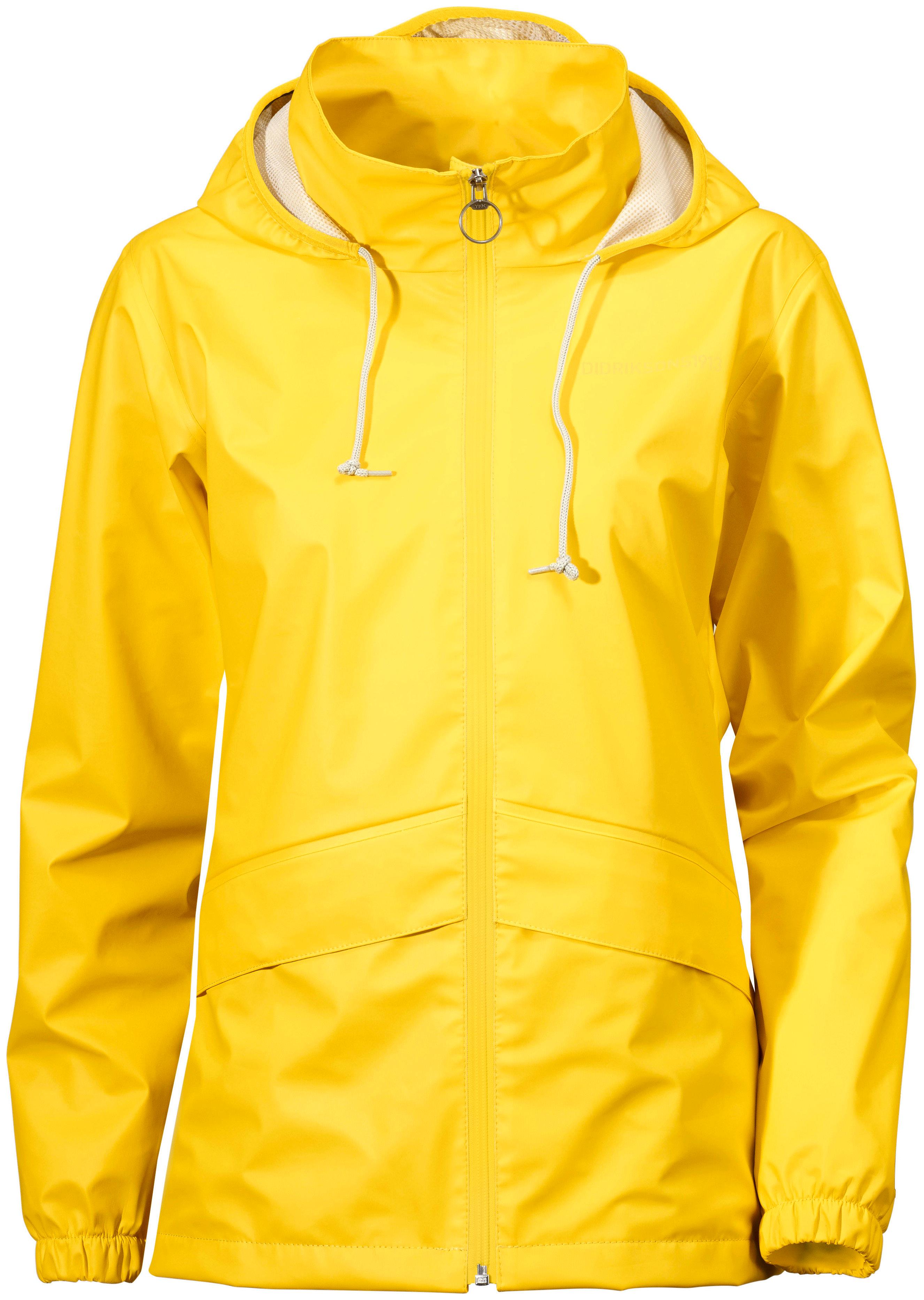 gul regnkappa dam