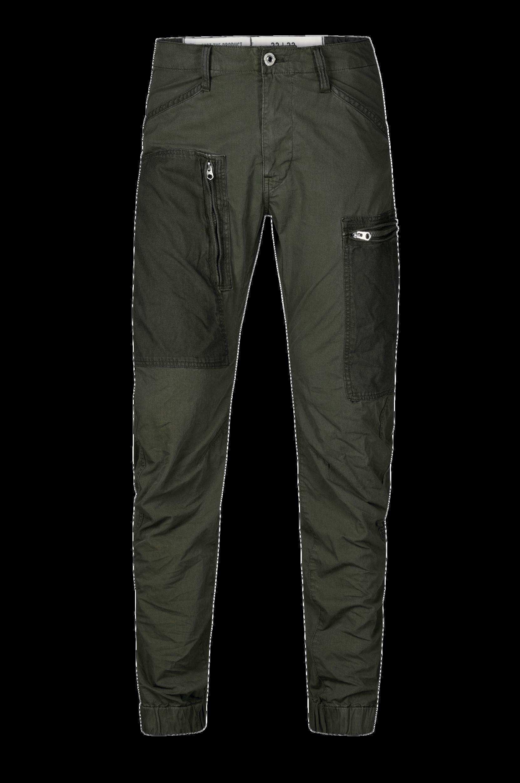 Buks Powel PM 3d Tapered Cuffed G-Star Bukser til Mænd i Mørkegrøn