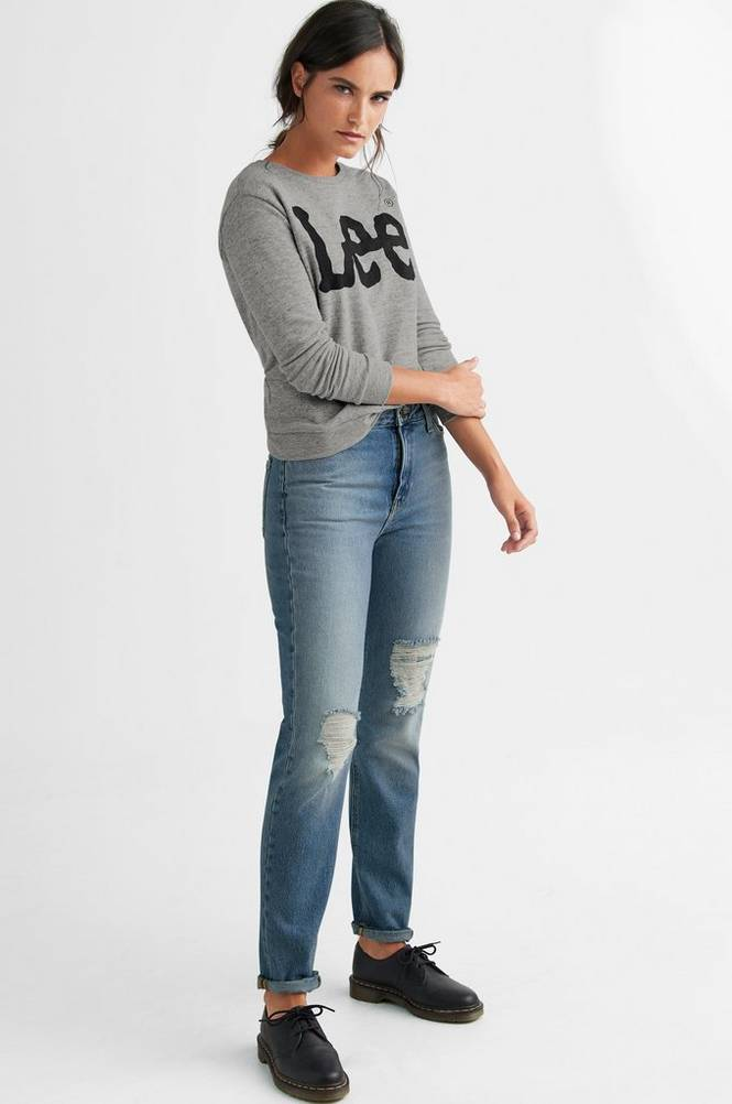 Lee Jeans Mom Straight