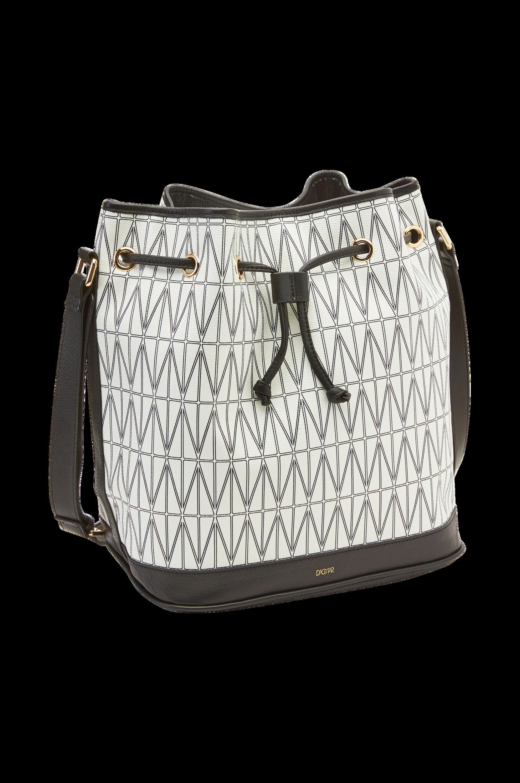 Bucket Bag Dagmar Tasker & kufferter til Kvinder i Hvid