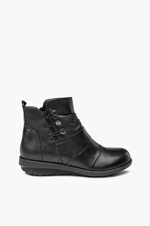 Boots Soft Comfort Diez Wildflower Boots & snørestøvler til Kvinder i Sort