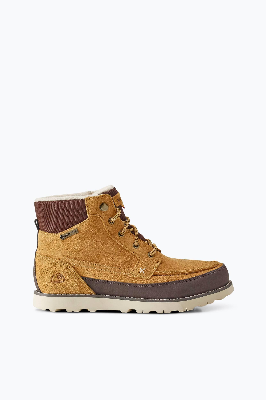 Støvle Kjenning GTX vandtæt Viking Boots, støvler & snørestøvler til Børn i Gulbeige