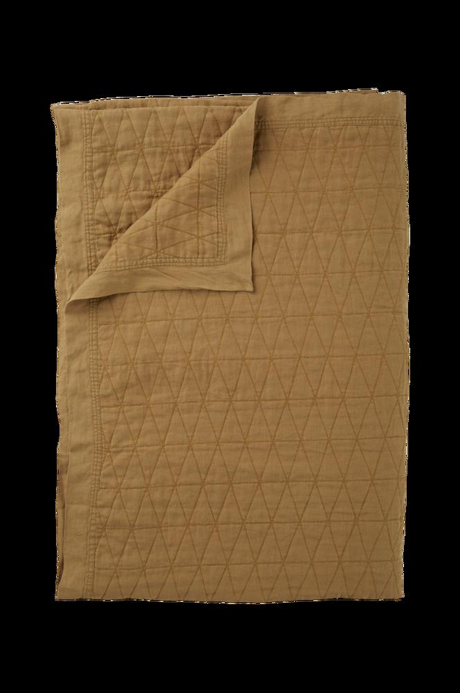 Överkast Candice i tvättat lin 180×260 cm