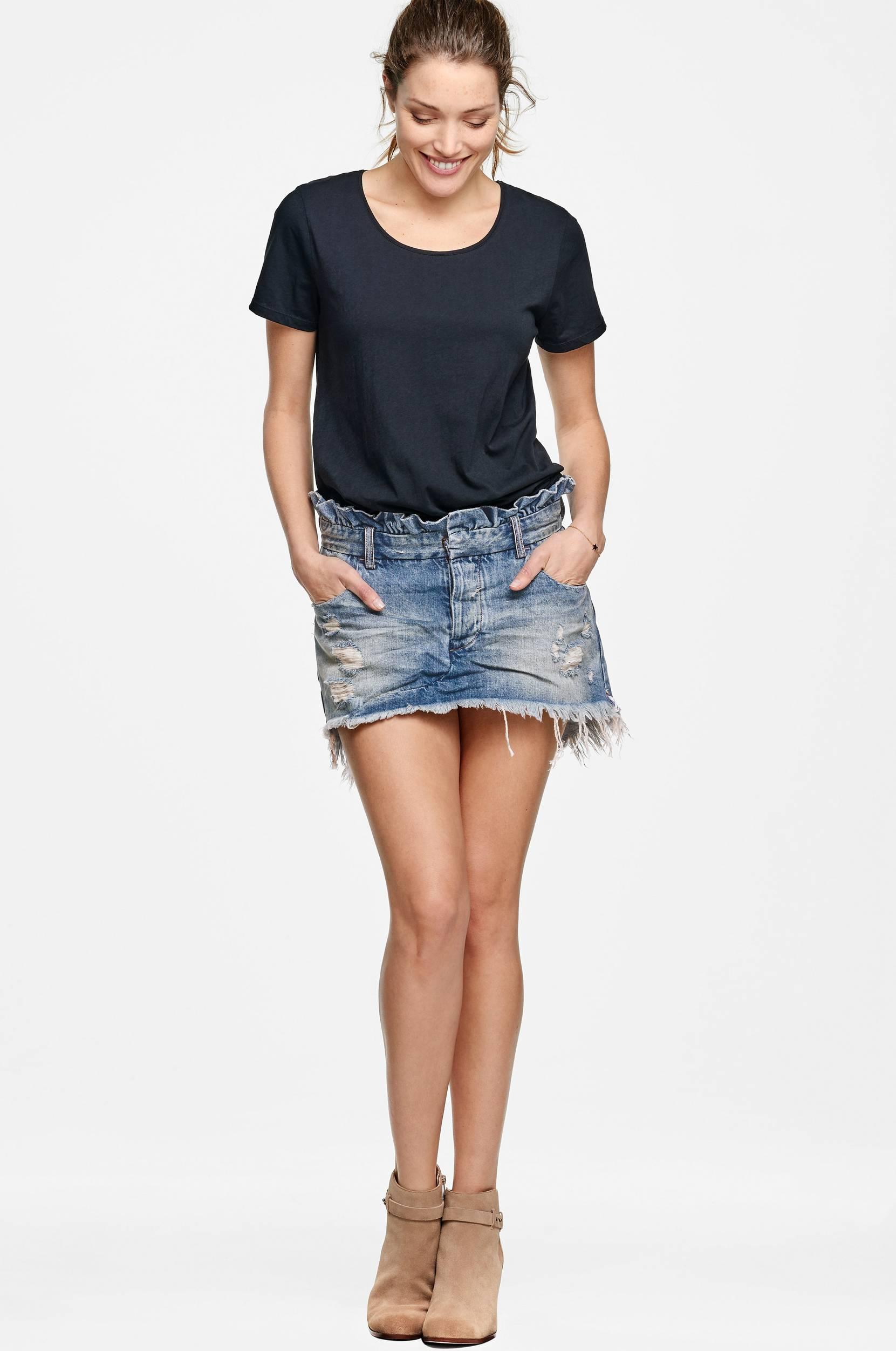 Le Cult Mini Skirt -farkkuhame
