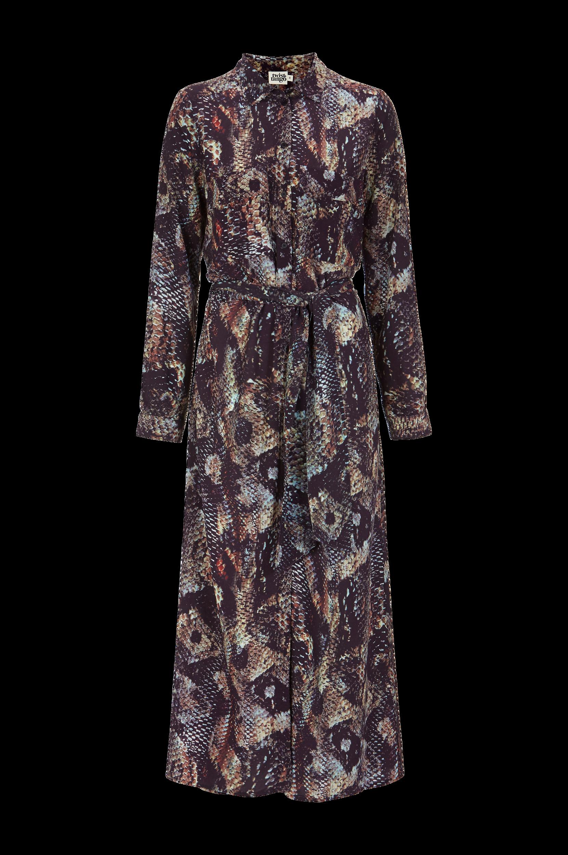 Kjole Nancy Twist & Tango Kjoler til Kvinder i Brun/lillamønstret