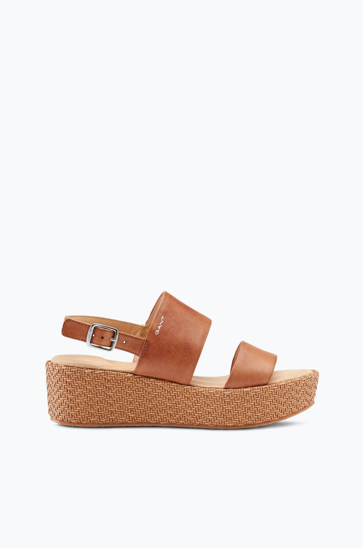 Sandaler Judith Gant Sandaler & sandaler med hæl til Kvinder i Brun