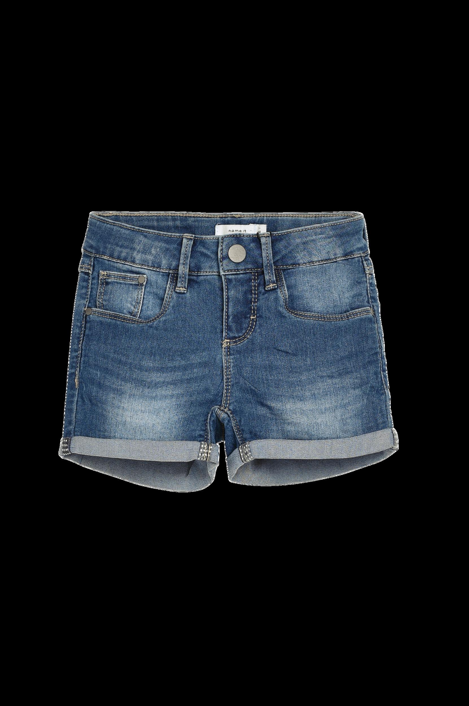 Denimshorts nitTada Name it Bukser & shorts til Børn i Mørkeblå denim
