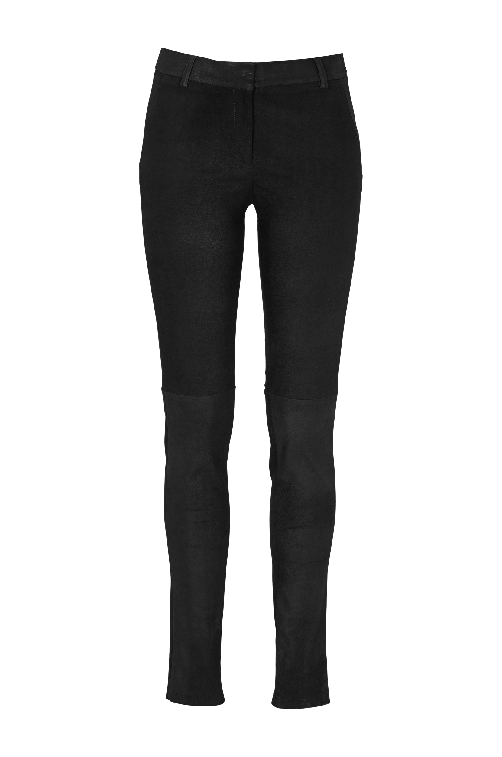 Brave-nahkaleggingsit, slim fit