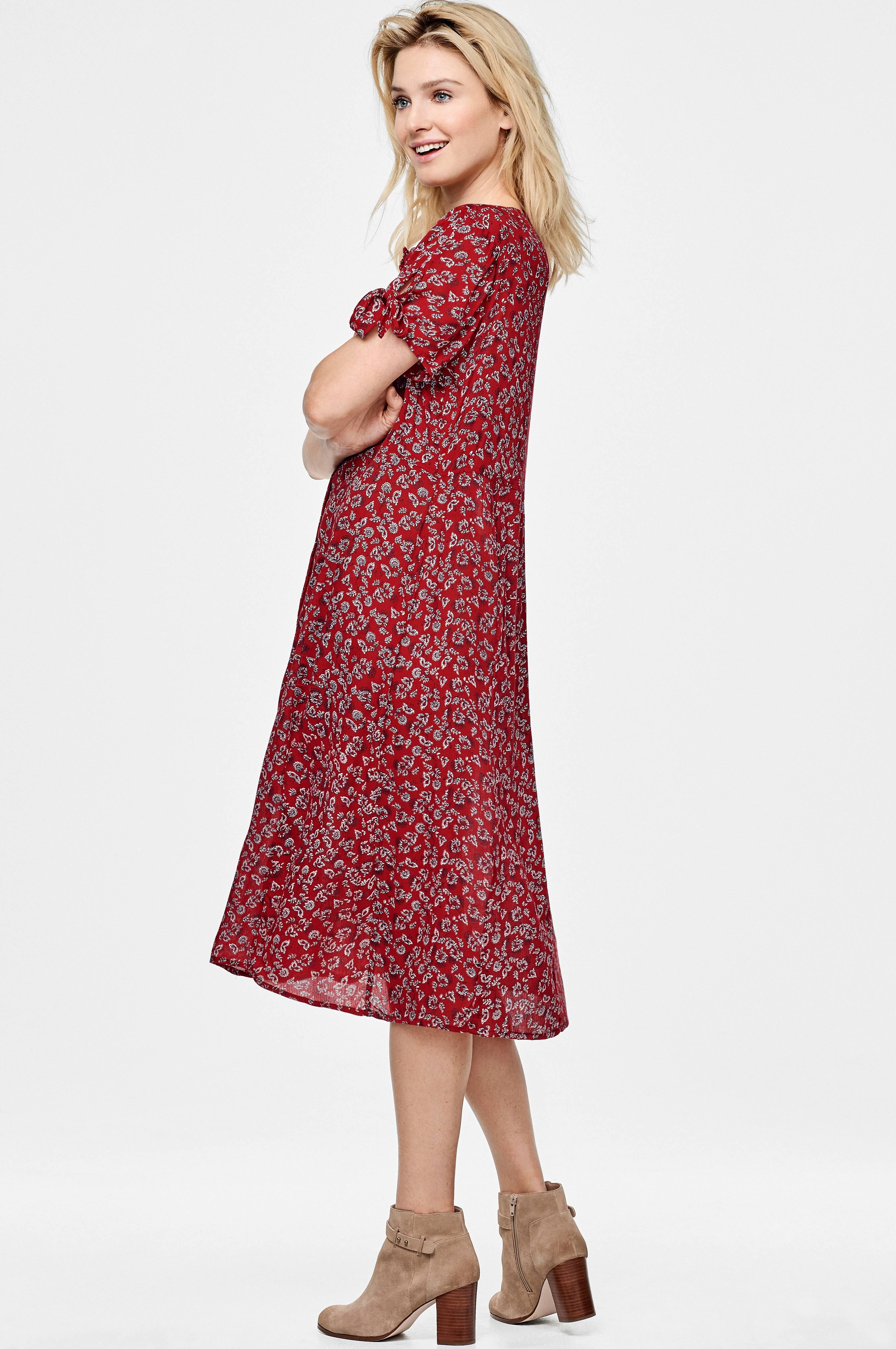 Ellos Collection Klänning Edie Röd Korta klänningar