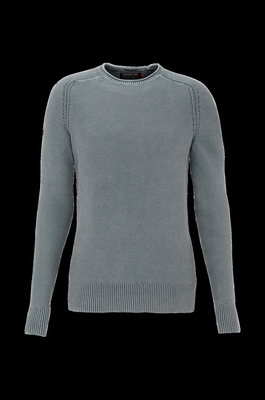 Garment Dyed L.A. Textured Crew -neulepusero