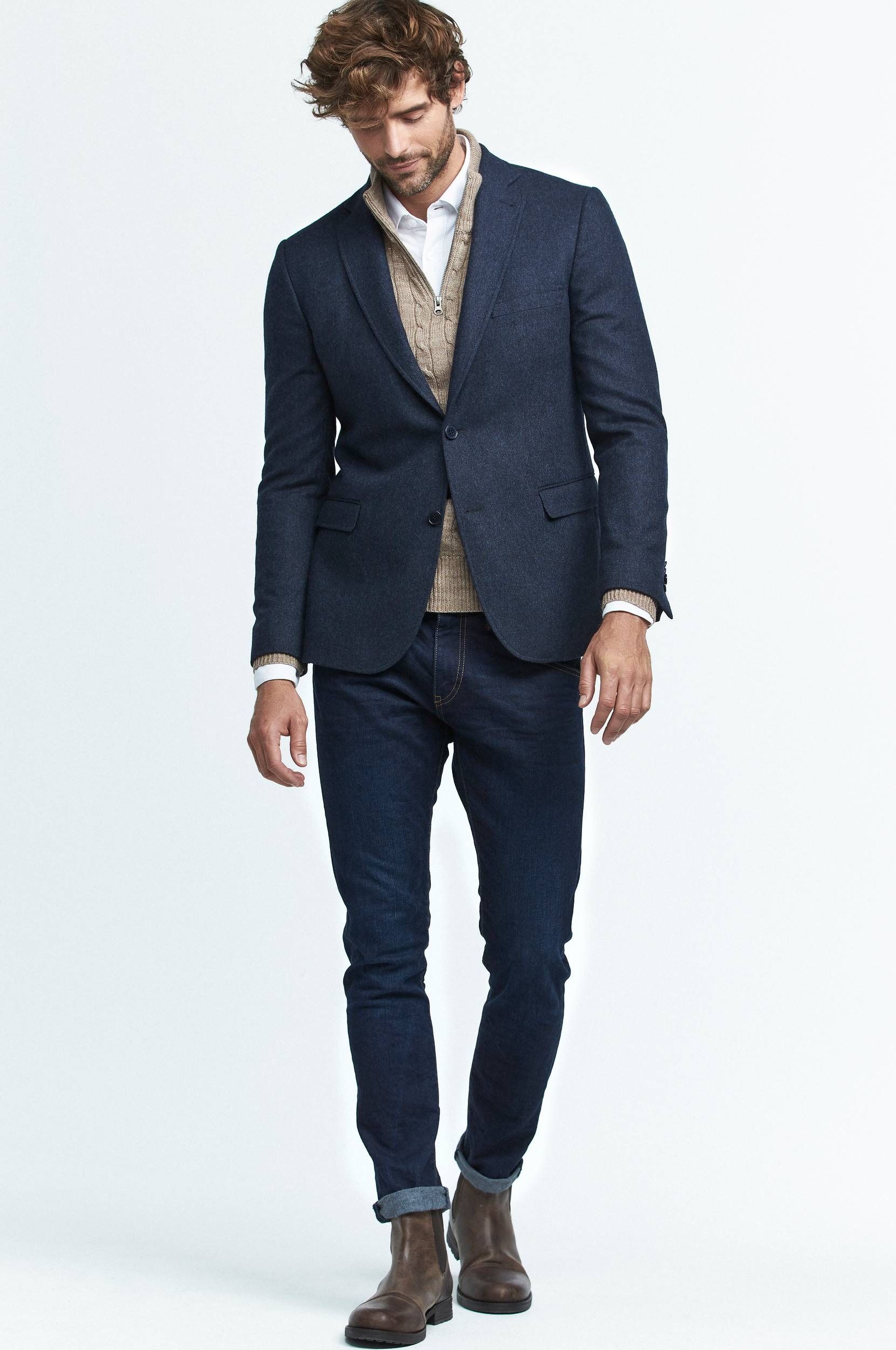 Jeans, slim fit med stretch thumbnail