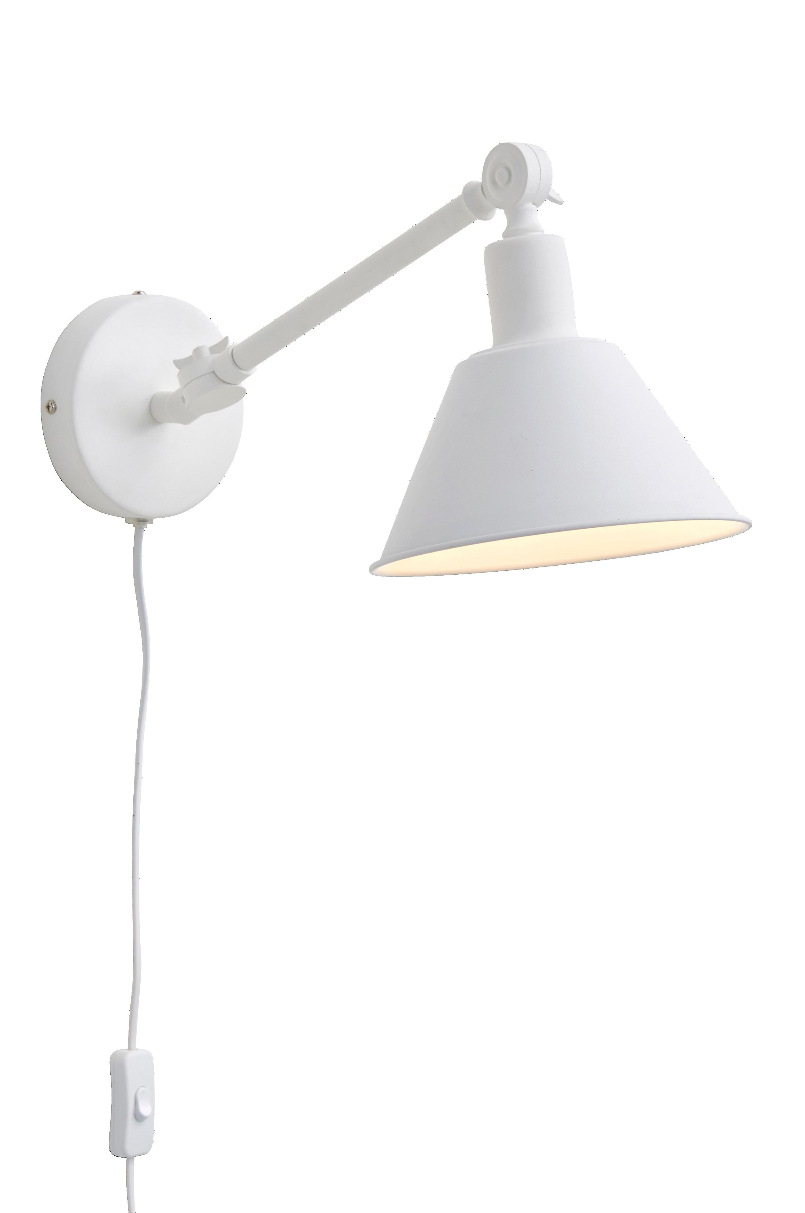Ellos Home Vegglampe Oxford Svart Vegglamper Ellos.no