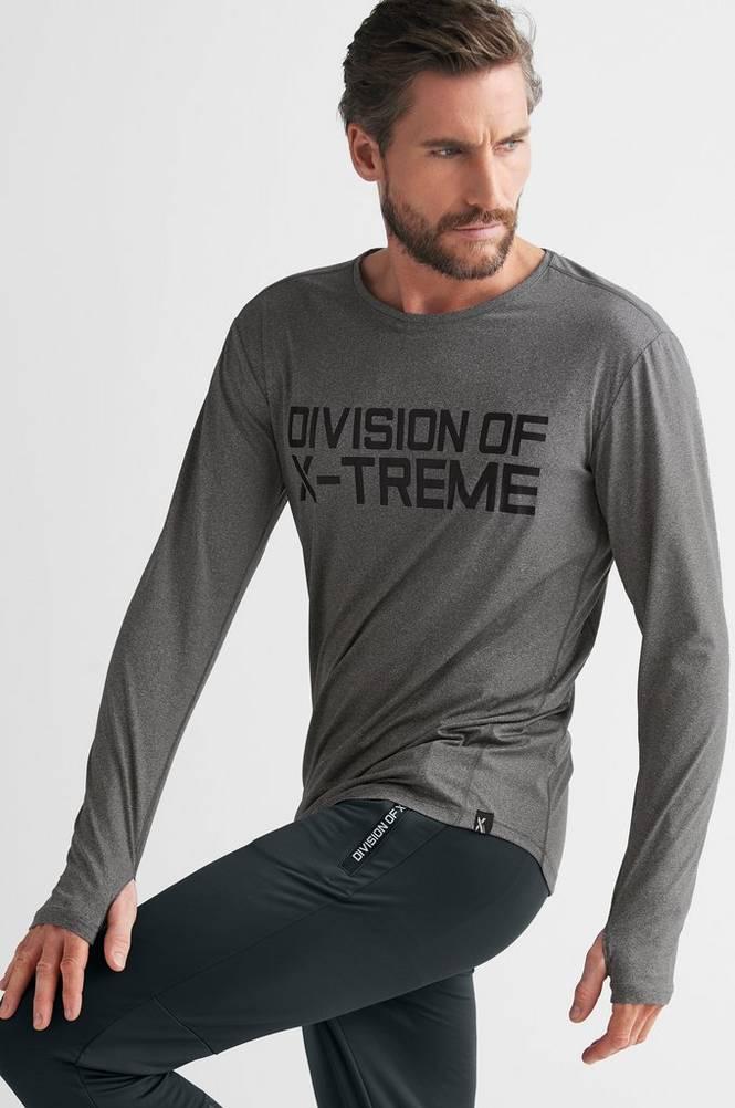 D.O.X Trænings-T-shirt Ozias Tech LS Tee