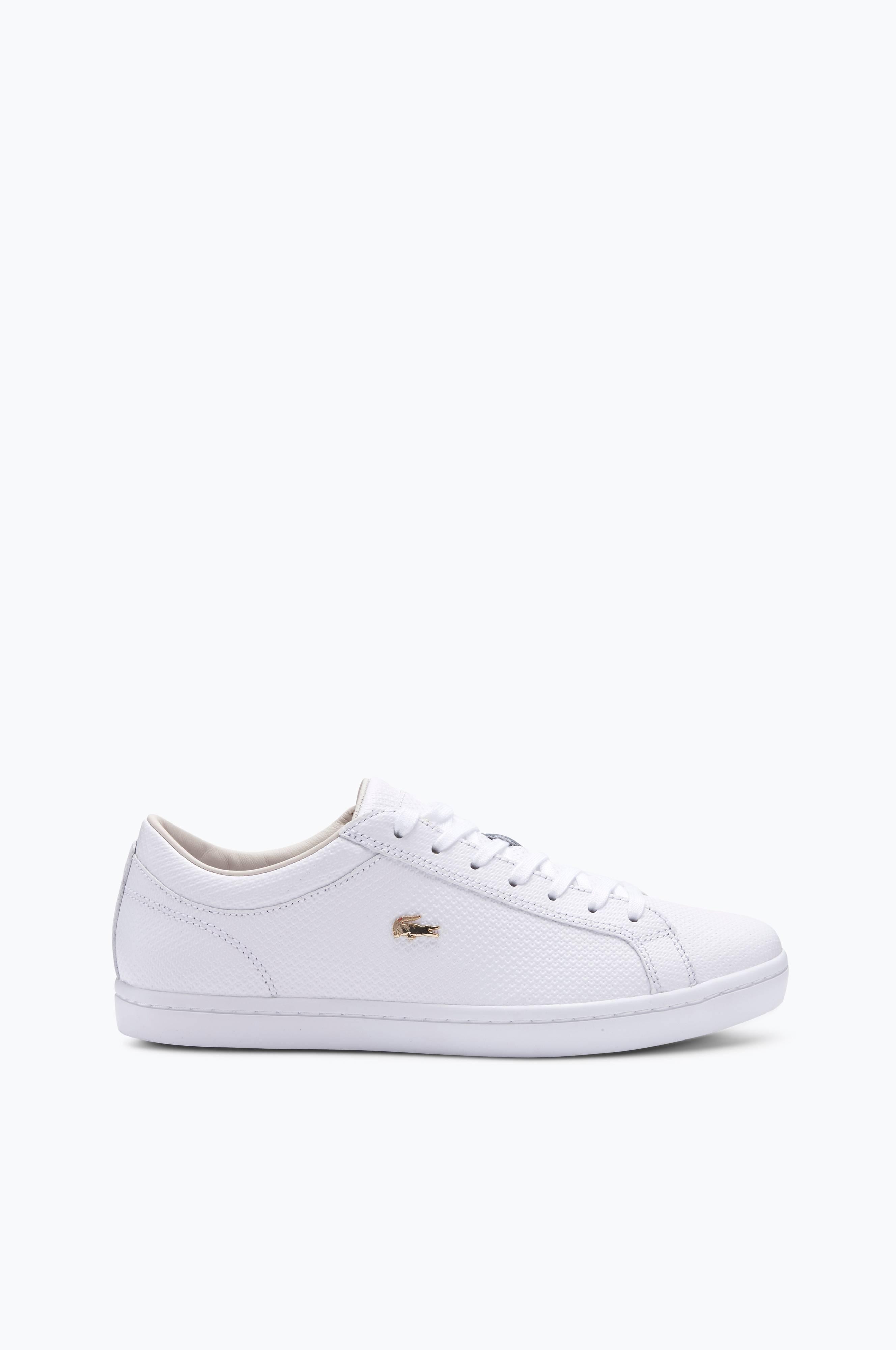 hvide lacoste sko