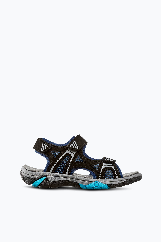 Sporttiset sandaalit, joissa avoin kärki